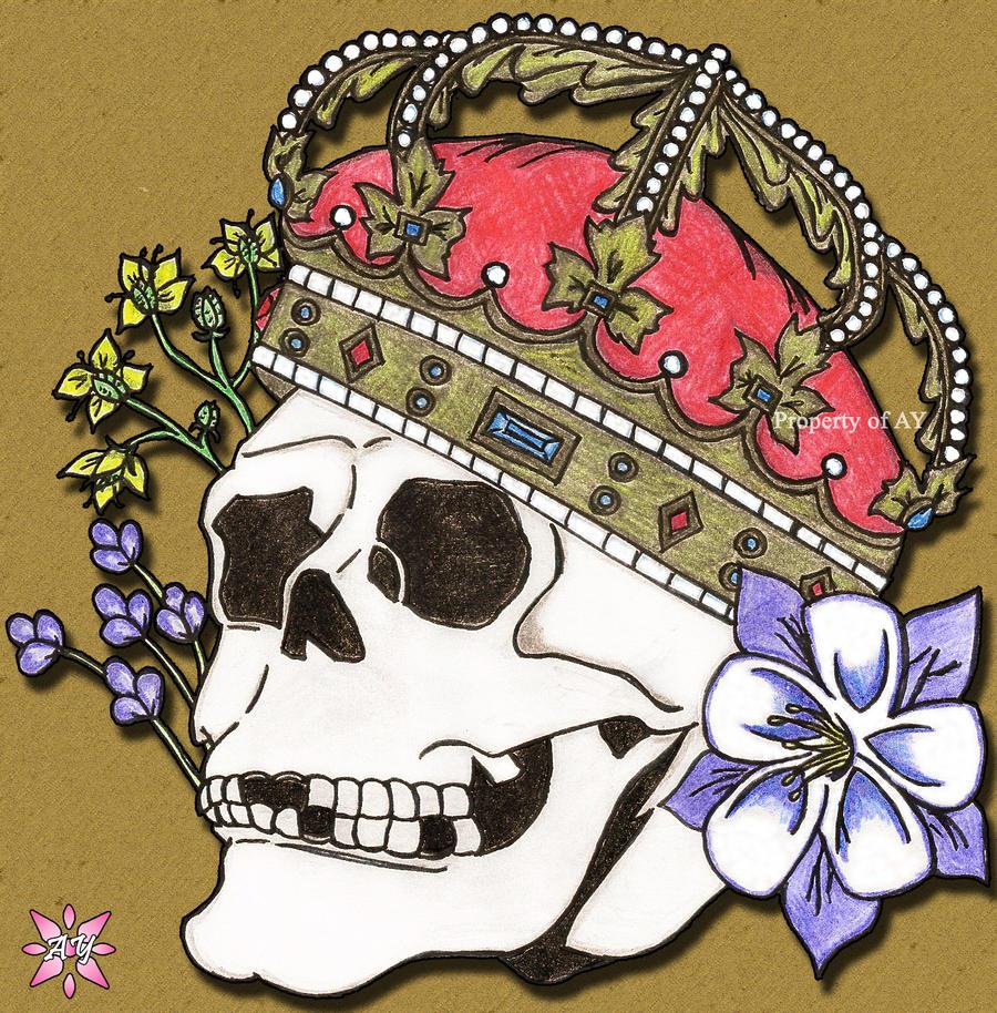 Hamlet Skull by DU-hockeygirl40 on DeviantArt