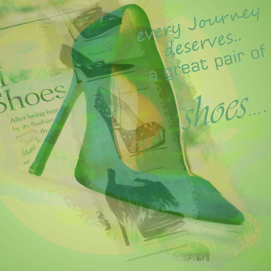 Shoes for the Journey by DesiaB