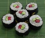 Sushi Ornaments-beef maki-