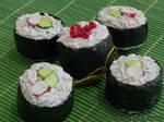 Sushi Ornaments-crab maki-