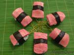 Sushi Ornaments-salmon-