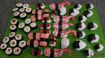 Sushi Ornament Sampler- 3
