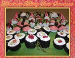Holiday Sushi Ornaments