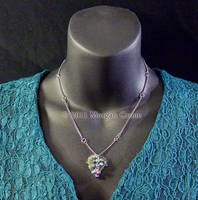 Berries and Leaf Necklace by MorganCrone