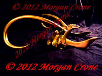 Lady Loki Horned Headdress by MorganCrone