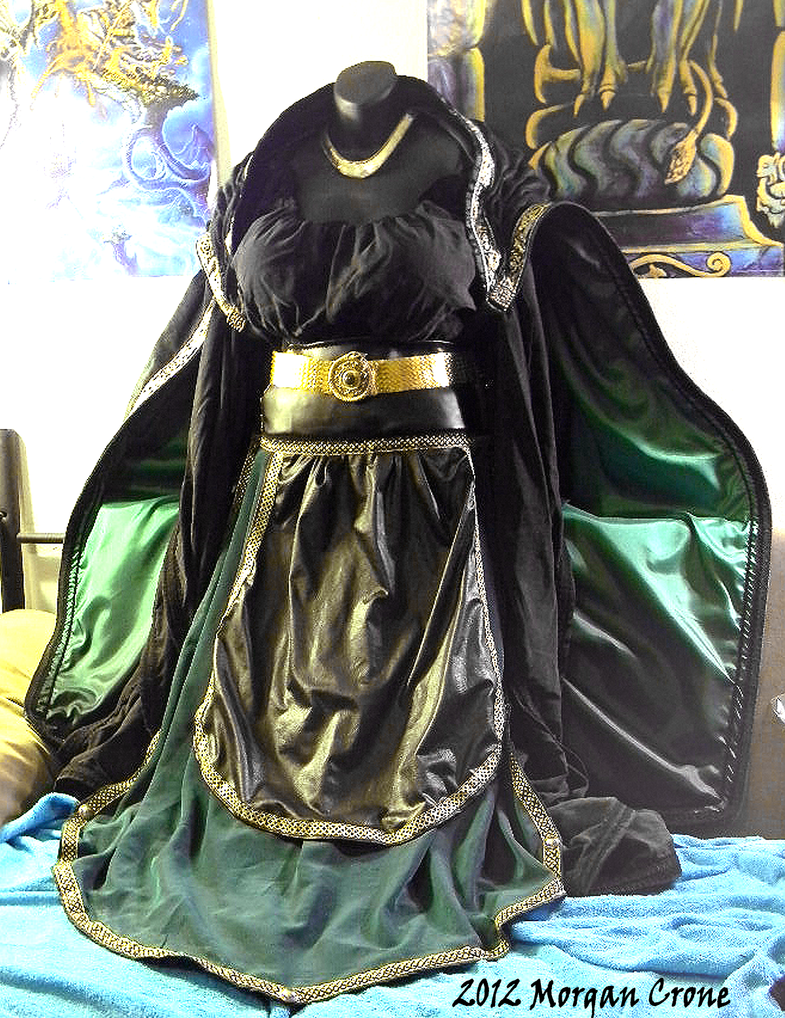 Lady Loki Costume 2 by MorganCrone