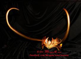 Multi-Tone Lady Loki Horned Diadem View #12 by MorganCrone