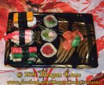 Realistic Sushi Holiday Christmas Ornaments 2
