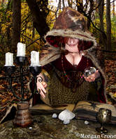 Autumn Witch16 by MorganCrone