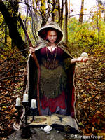 Autumn Witch15 by MorganCrone