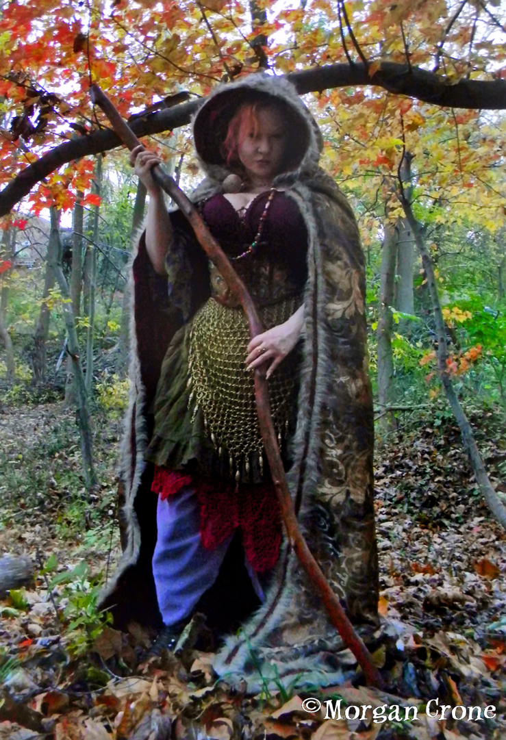 Autumn Witch 39 by MorganCrone