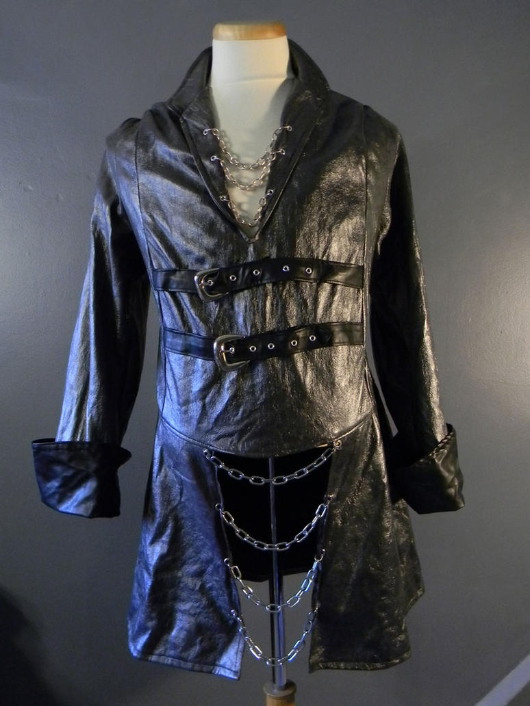 Gothic Black Buckled Doublet by MorganCrone