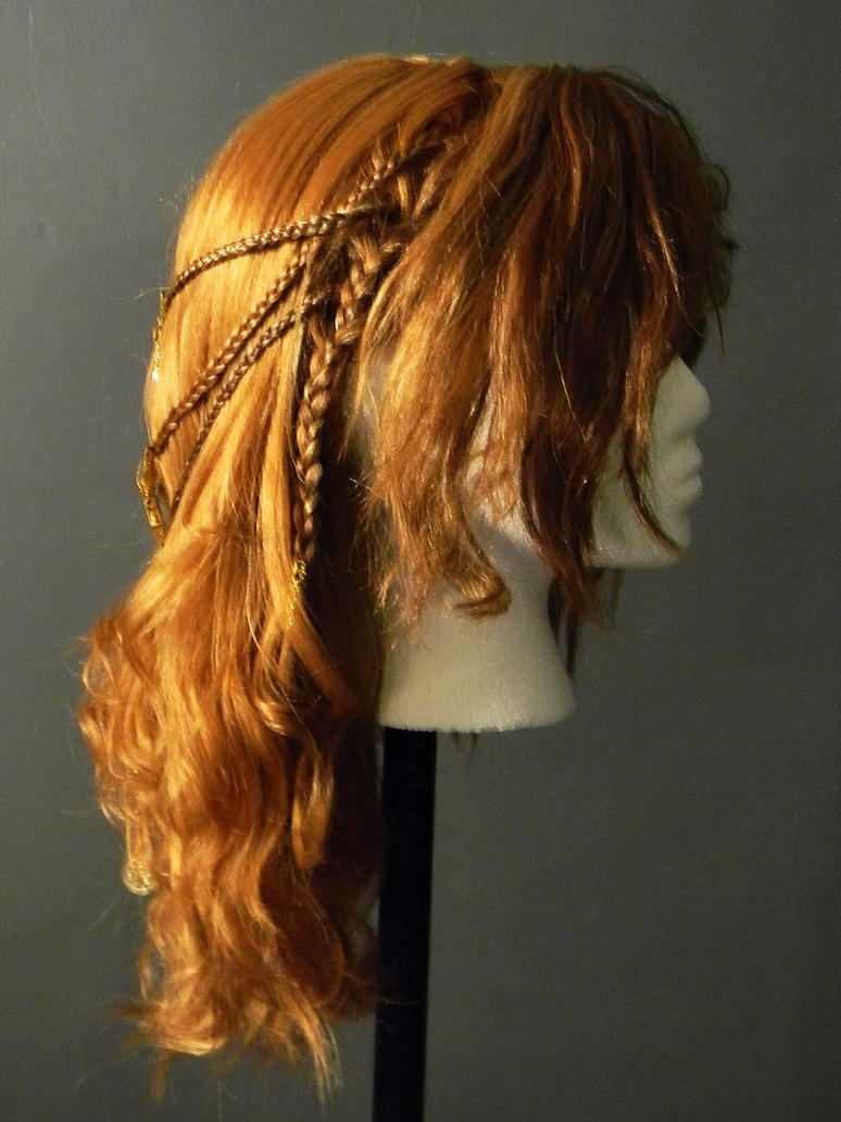 Viking Shieldmaiden Celtic Braided Costume Wig 2 by MorganCrone