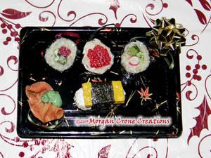 Maki Sushi Holiday Ornament Decorations