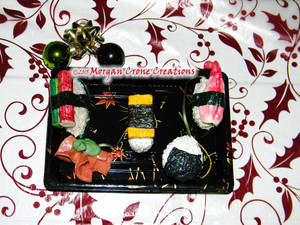 Nigiri Sushi Holiday Ornament Decorations