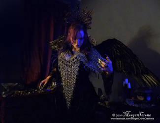 Queen of the Corvids Costume 9