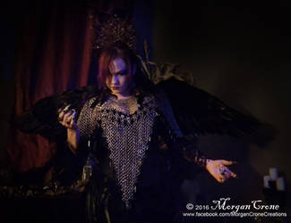 Queen of the Corvids Costume 10