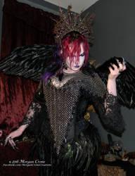 Queen of the Corvids Costume 11