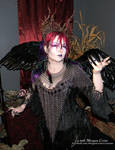 Queen of the Corvids Costume 12 by MorganCrone