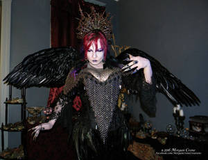 Queen of the Corvids Costume 13