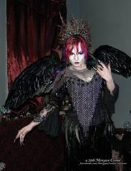 Queen of the Corvids Costume 14