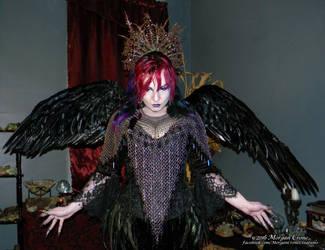 Queen of the Corvids Costume 15