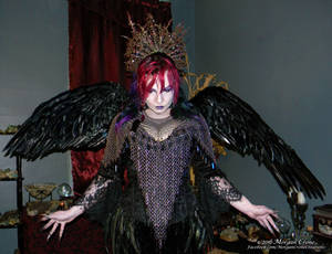 Queen of the Corvids Costume 15