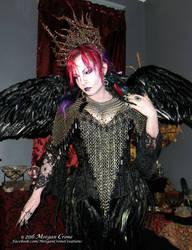 Queen of the Corvids Costume 16
