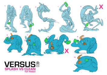 Robin Keijzer toys Splash VS Clean by RobinKeijzer