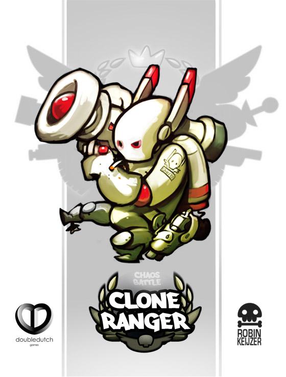 Chaos Battle Clone Ranger by RobinKeijzer