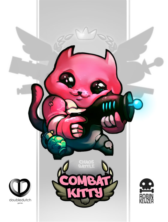 Chaos Battle Combat Kitty 01 by RobinKeijzer
