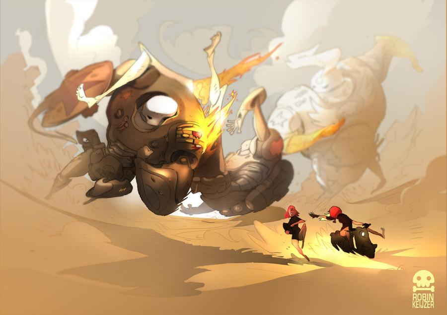 Juggernaut! by RobinKeijzer