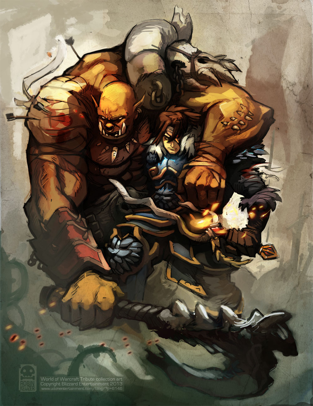 World of Warcraft Tribute Art by RobinKeijzer