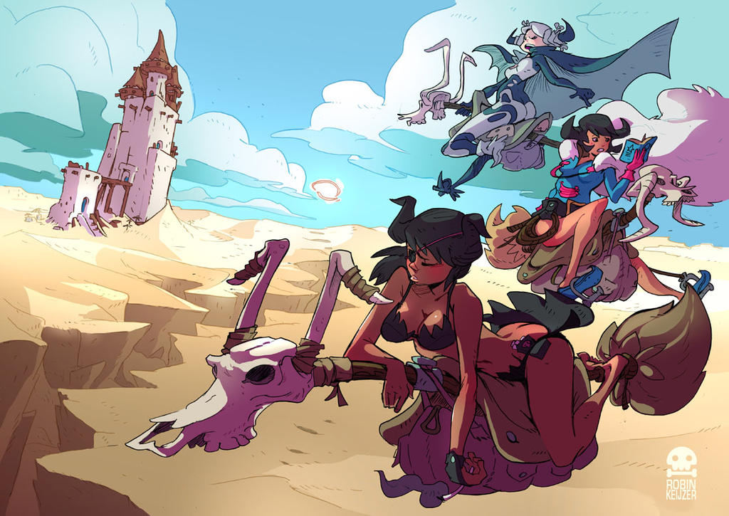 Witches in the Desert