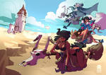 Witches in the Desert by RobinKeijzer