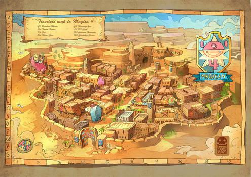 Map of Magica4