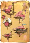 Steampunk Airships?
