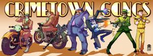 Gang Up! Character lineup
