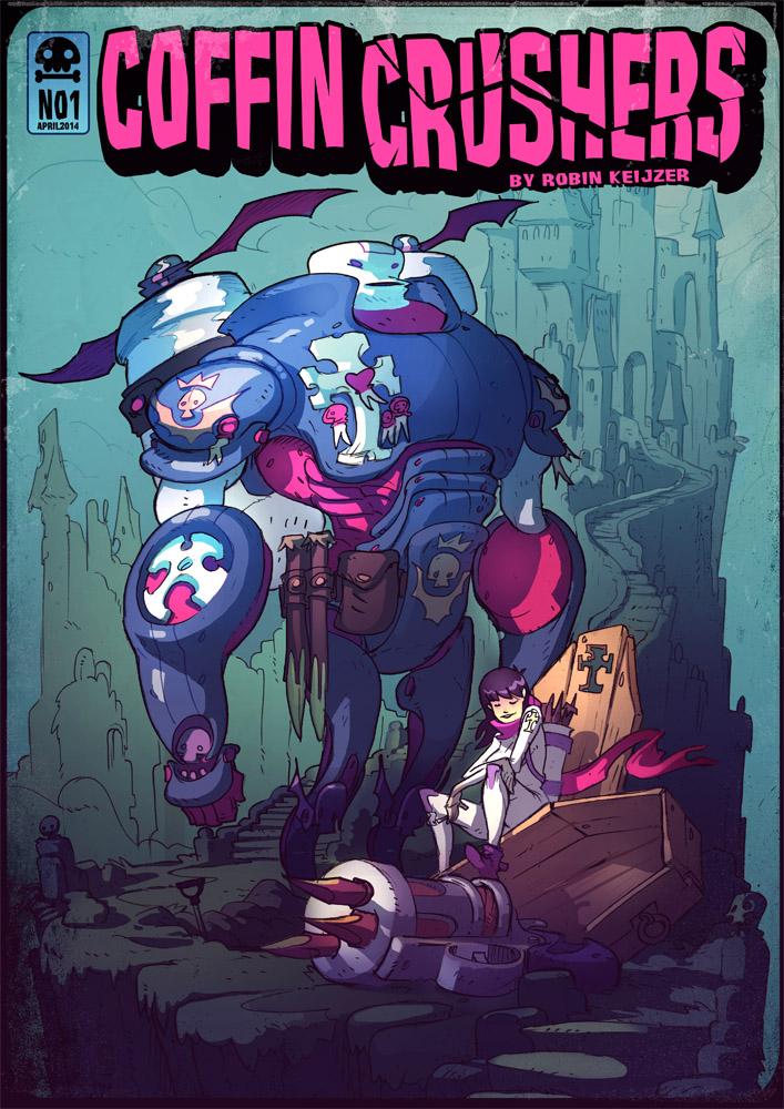 CoffinCrushers comic by RobinKeijzer