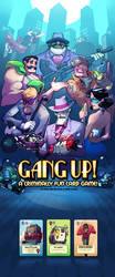 GangUp! Cover Image by RobinKeijzer