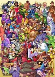 GangUp! Character Poster by RobinKeijzer