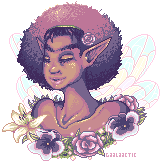 Flower Faerie by gaalaactic