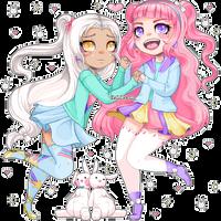 [c] Usagi Sisters (Keraroo)