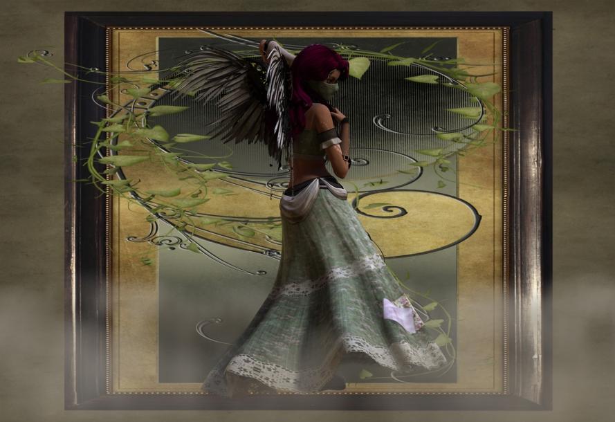 +Steampunk Angel+ by WickedChibi