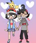 Ash x Goh