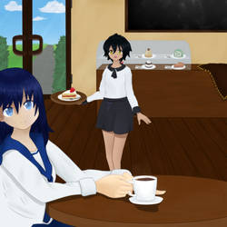 One Day at Cafe