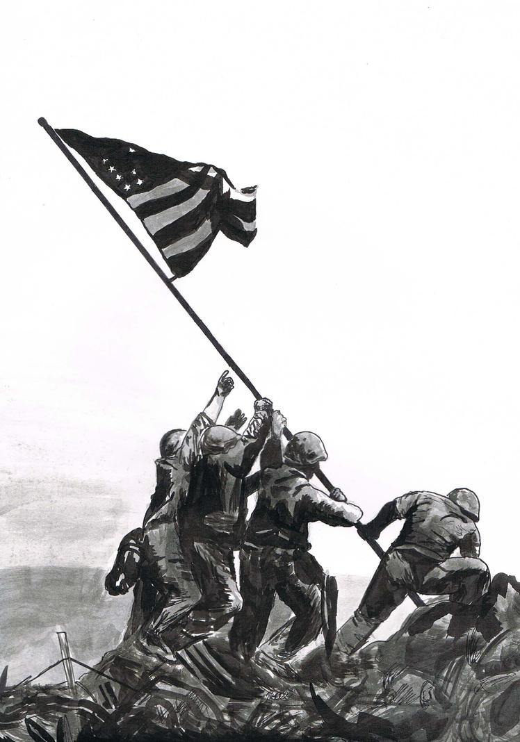 the battle of iwo jima Seventy-two years ago today, thousands of us marines landed on the island of iwo jima, a tiny pacific atoll about 760 miles from mainland japan feb 19, 1945, was the first day of an intense, 36-day battle that became one of the major turning points in world war ii while the iconic image of six.