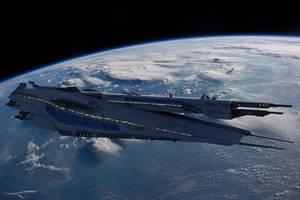 (Mass Effect) Everest Class - First Contact War by Captain-Steven