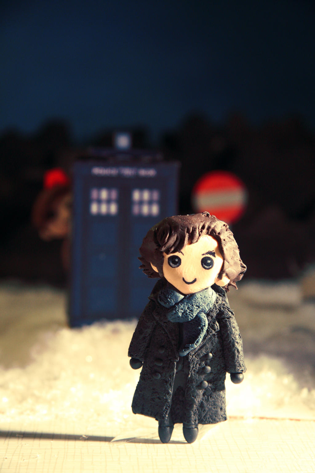 Come along, Sherlock by Monicmon