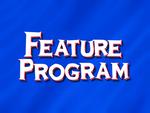 Feature Program - Blue (1994, HD)